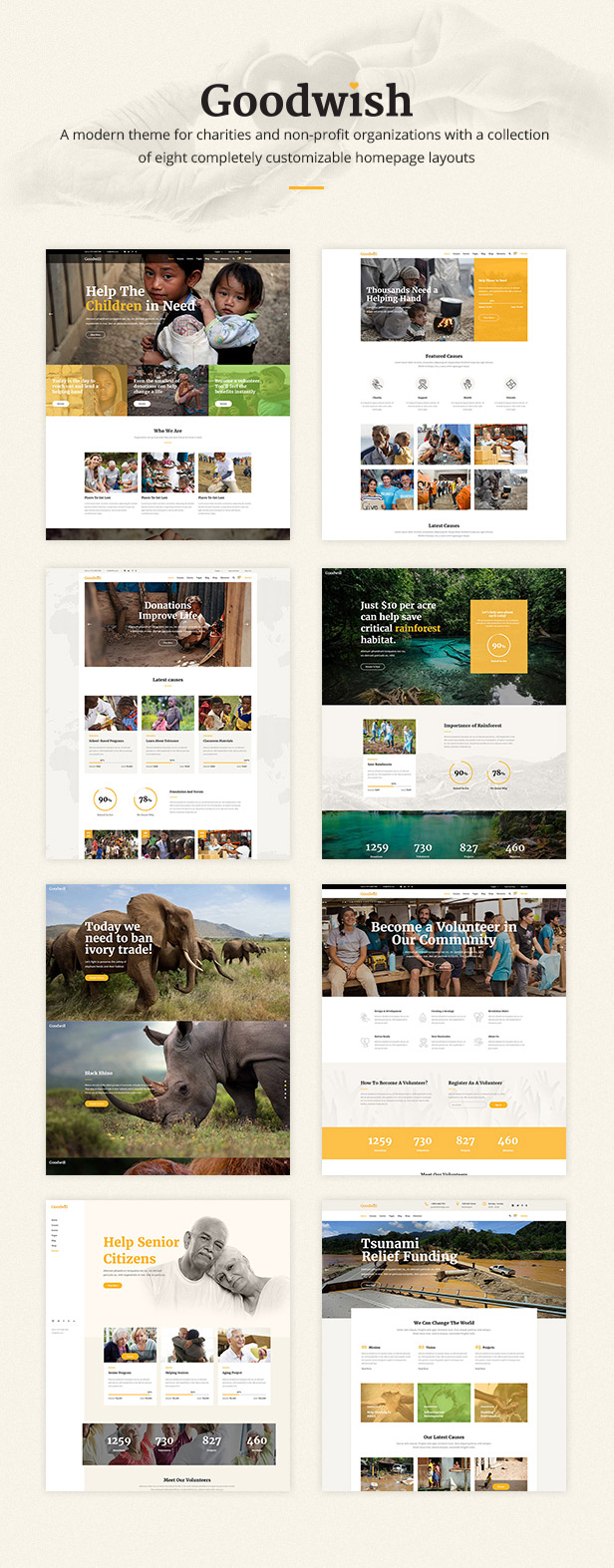 Goodwish - Charity & Nonprofit Theme - 1